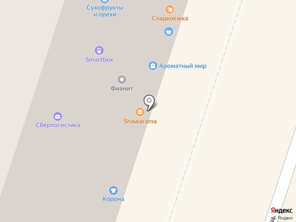 Лампер на карте Мурино