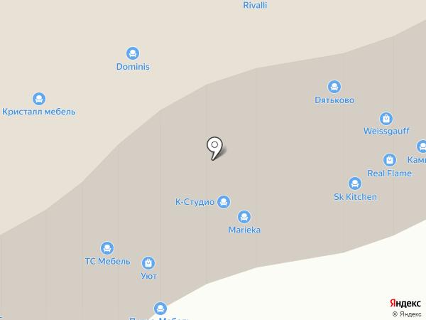 Мебельбор на карте Санкт-Петербурга