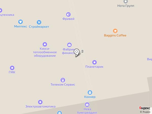 Психоаналитический центр на карте Санкт-Петербурга