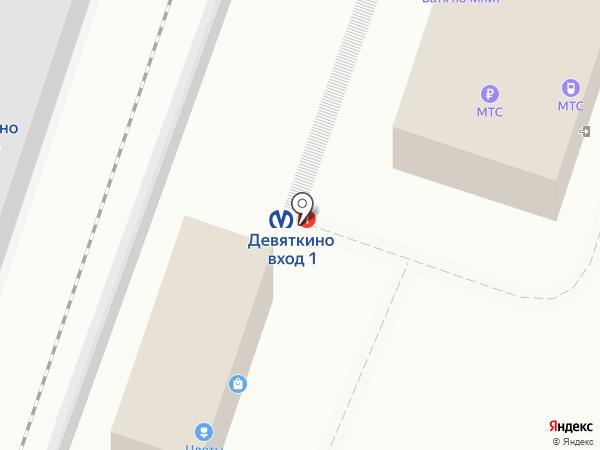 МТС на карте Мурино