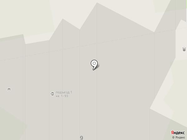 Бадаева-9, ТСЖ на карте Санкт-Петербурга