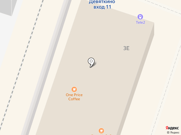 Магазин горячей выпечки на Привокзальной площади на карте Мурино