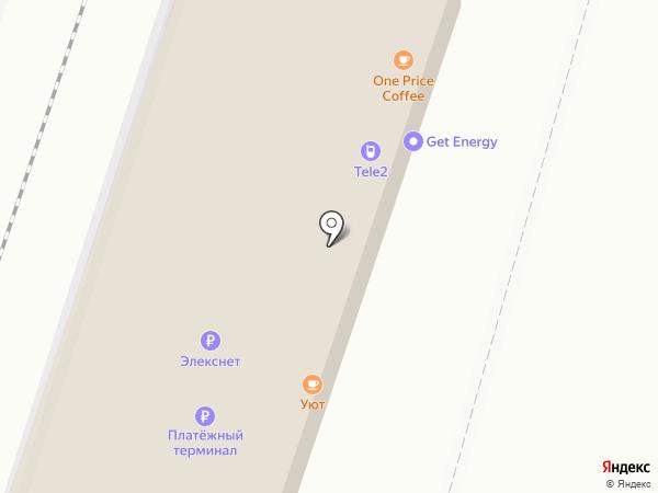 Кафе на карте Мурино