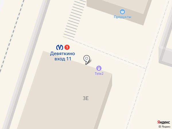 Tele2 на карте Мурино