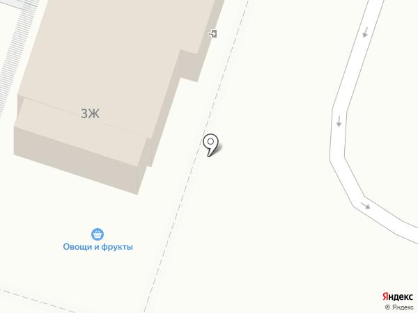 Магазин одежды и аксессуаров на карте Мурино