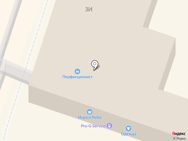 Магазин одежды на карте Мурино