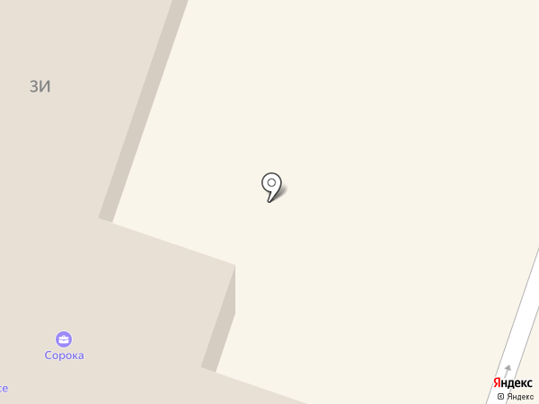 Магазин одежды на Привокзальной площади на карте Мурино