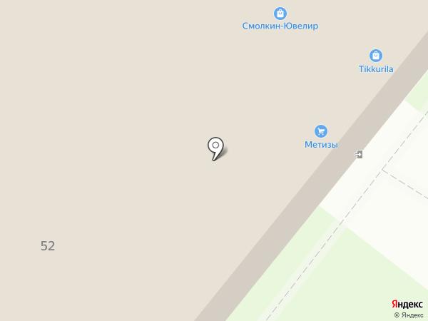 Тиккурила на карте Мурино