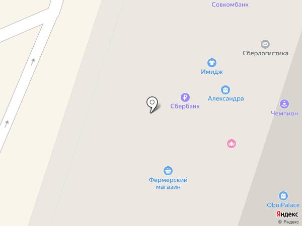 Север-Метрополь на карте Мурино