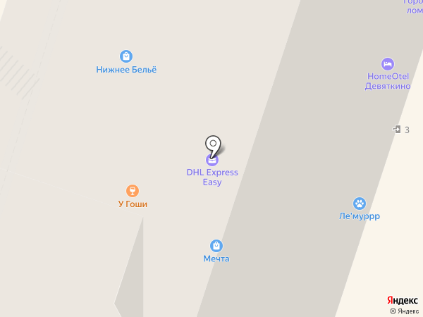 Новостройки на карте Мурино