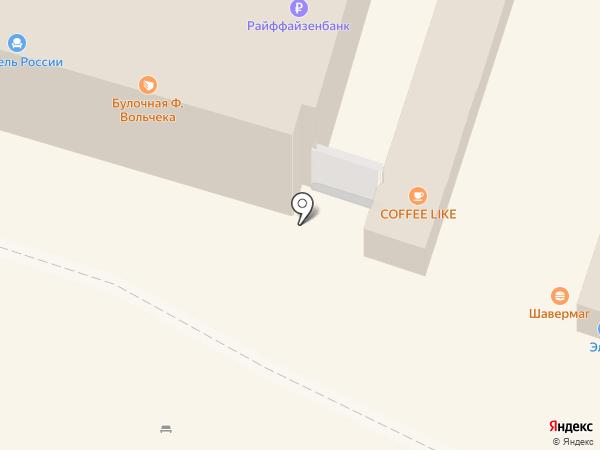 Шаверма на карте Мурино