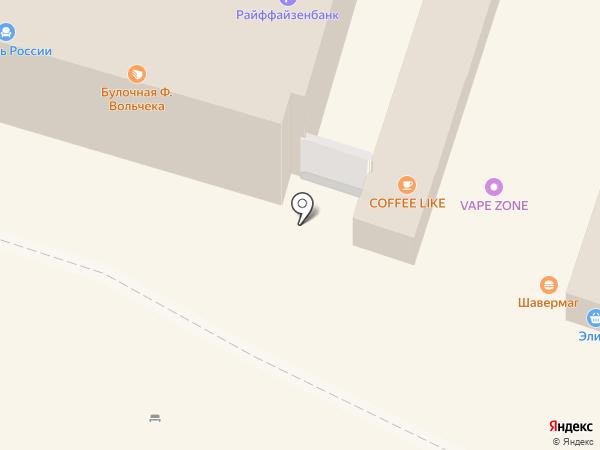 Элика на карте Мурино
