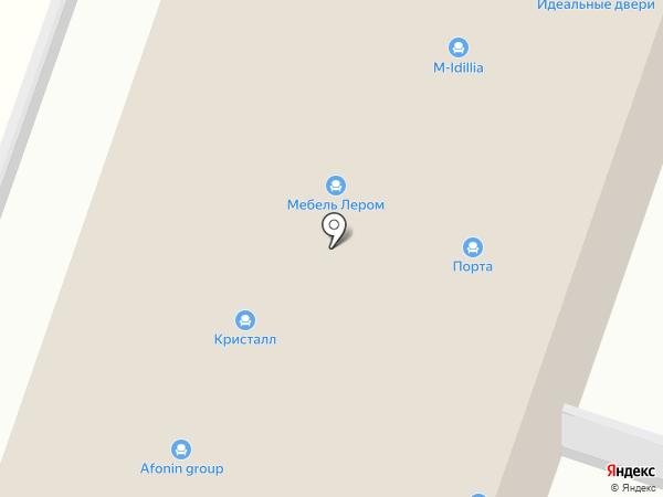 Мебель Хаус на карте Мурино