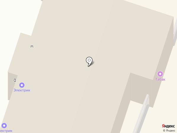 Продуктовый магазин на Привокзальной площади на карте Мурино