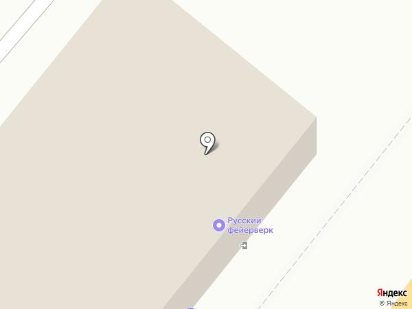 Русский Фейерверк на карте Мурино