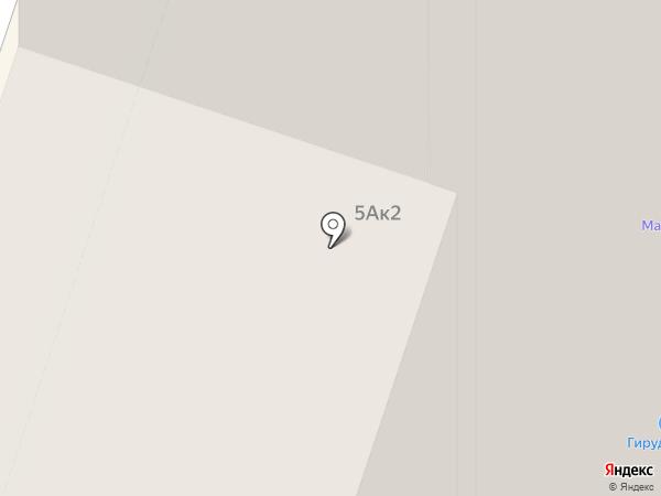 Итака на карте Мурино