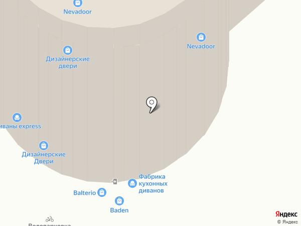 Уют Сервис на карте Санкт-Петербурга