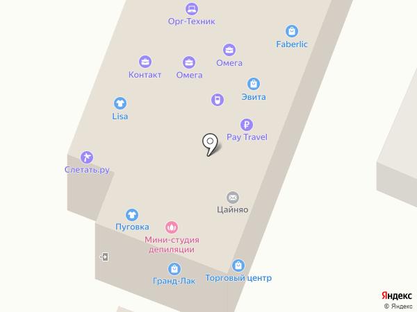 КОНТАКТ на карте Мурино