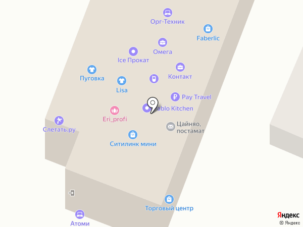Нотариус Сенникова О.Ю. на карте Мурино