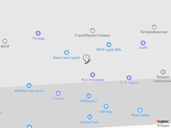 Jsplash на карте Санкт-Петербурга