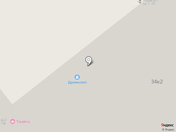 Цепочка на карте Мурино