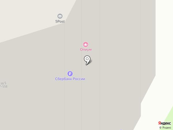 Пятёрочка на карте Мурино