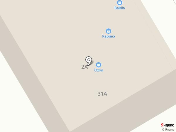 Каринэ на карте Нового Девяткино