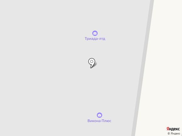 ТОП ХАУС на карте Мурино