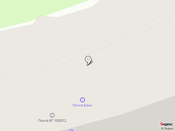 Почтовое отделение №12 на карте Санкт-Петербурга
