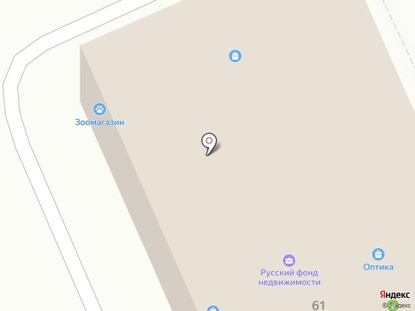 Нотариус Быстров Н.С. на карте Нового Девяткино