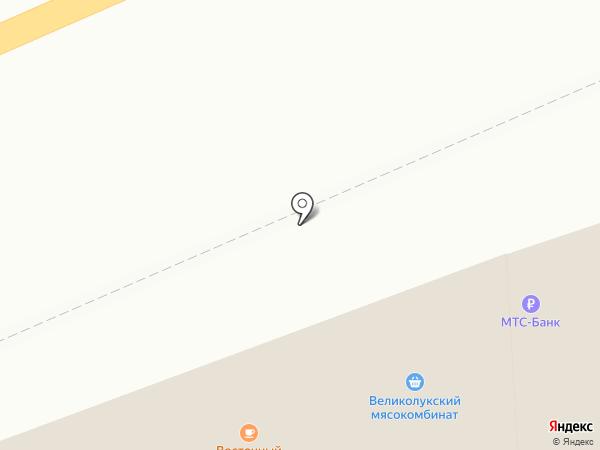 Элика на карте Нового Девяткино