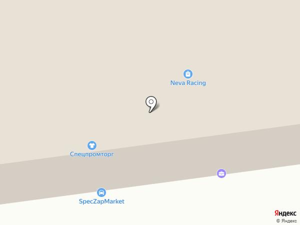 Авто Спектр на карте Санкт-Петербурга