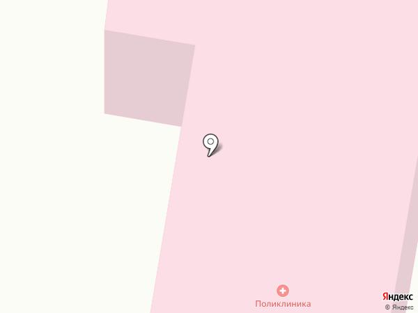 Кузьмоловская поликлиника на карте Кузьмоловского