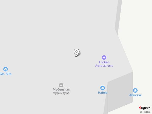 Трайв-Комплект на карте Кудрово