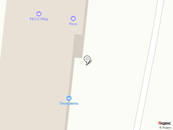 Оккервилпартс на карте Кудрово