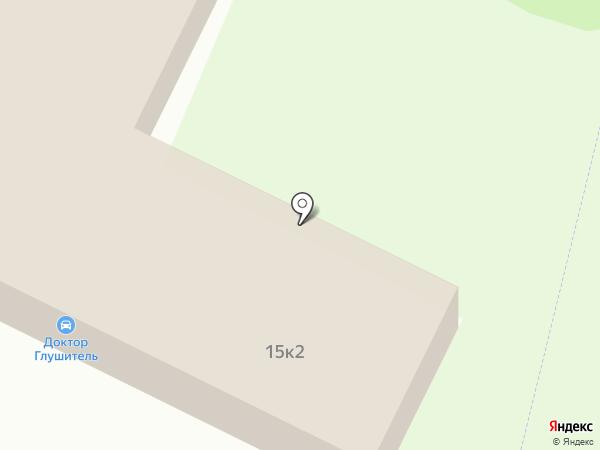 Автотюнинг на карте Санкт-Петербурга