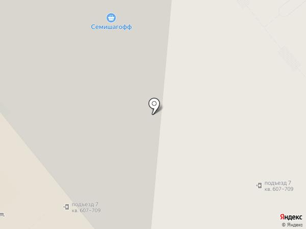 Семишагофф на карте Кудрово