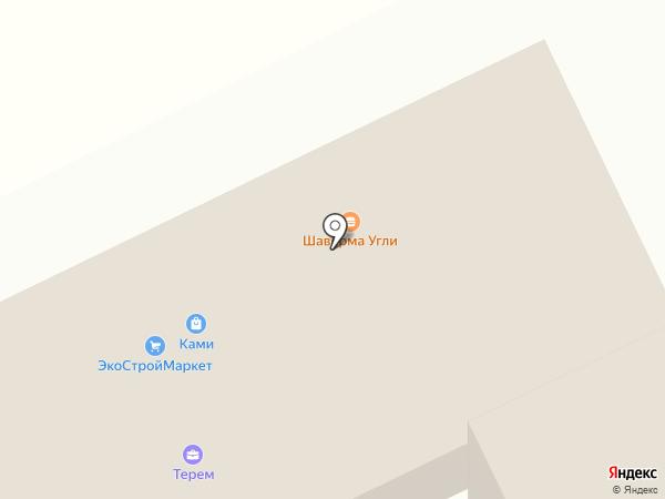 Жаровня на карте Кудрово