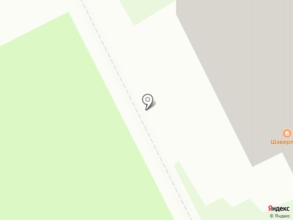 Светофор на карте Кудрово