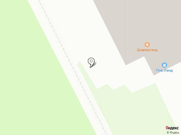 Шаверма №1 на карте Кудрово