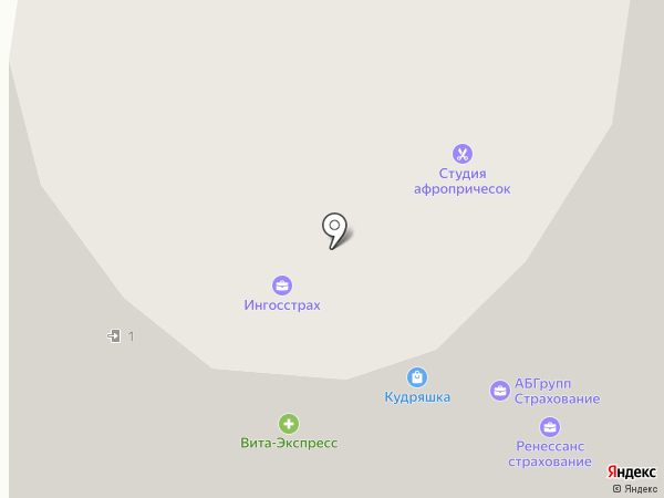 Brazilian Blowout на карте Кудрово