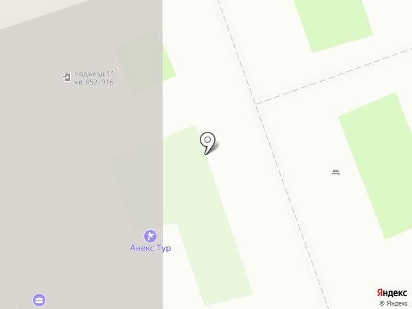 Эльф на карте Кудрово