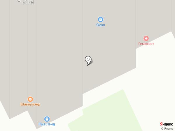 Суши шоп на карте Кудрово