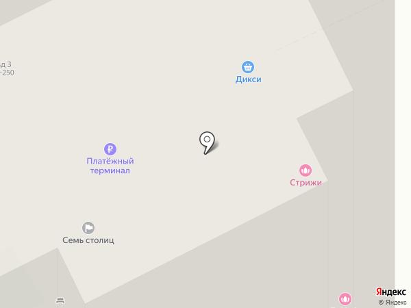 ДИКСИ на карте Кудрово