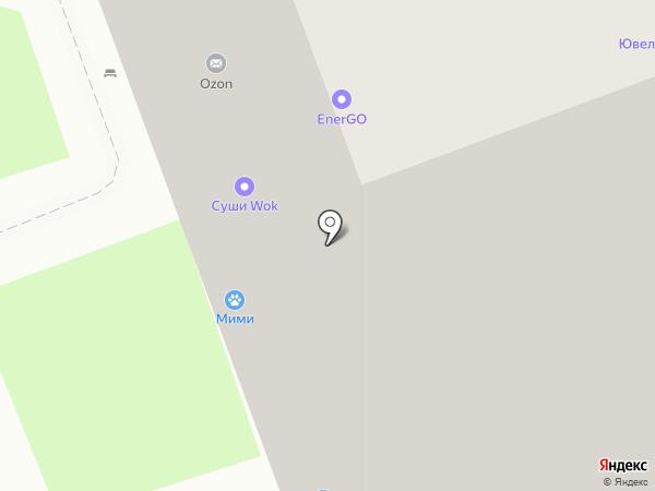МиМи на карте Кудрово