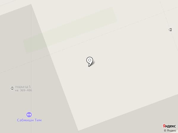 Эстераль на карте Кудрово