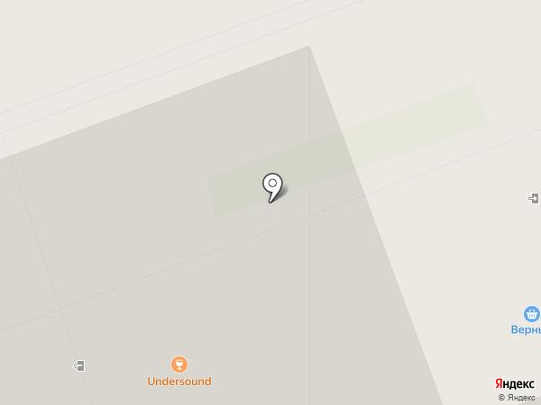 Undersound на карте Кудрово