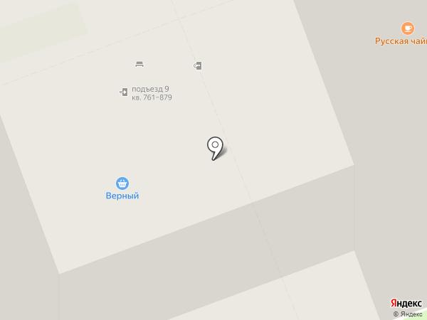 Счастливая звезда на карте Кудрово