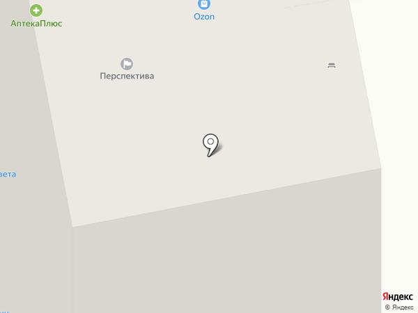 Перспектива на карте Кудрово