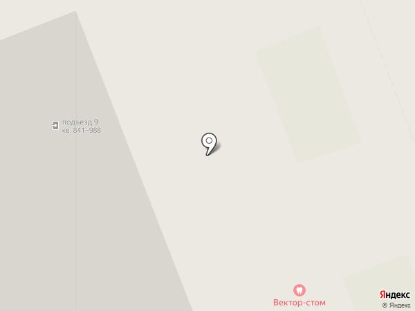 Вектор стом на карте Кудрово